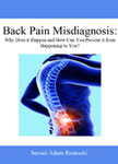 Back Pain Misdiagnosis Book
